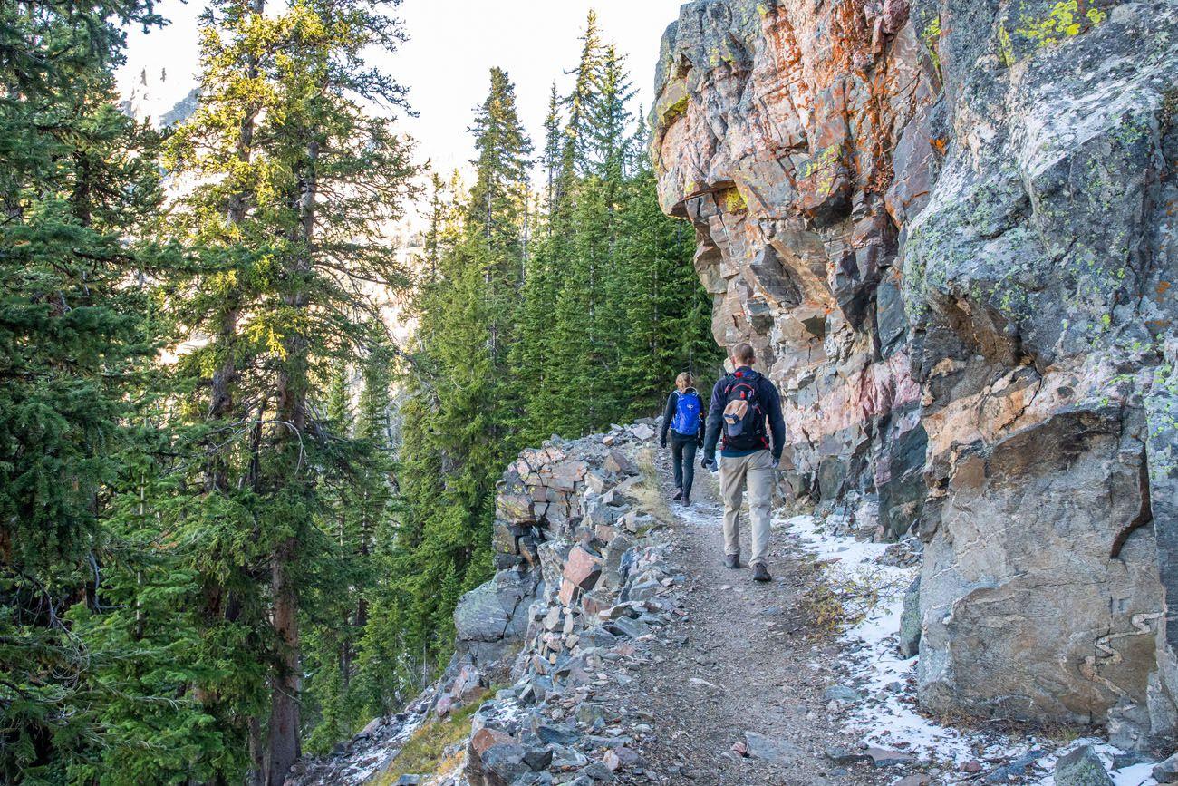 Hiking to Static Peak