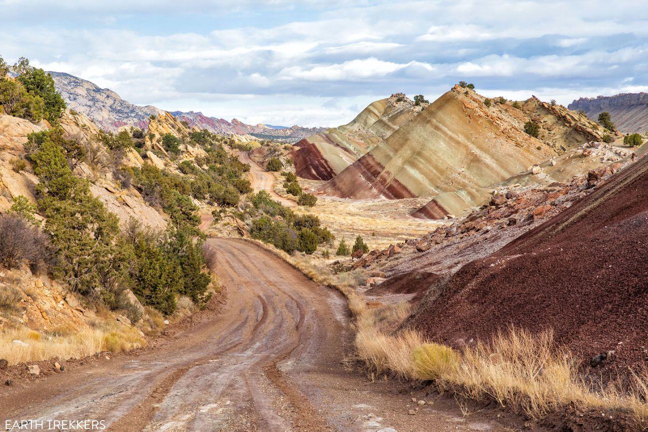Scenic Drive in Utah
