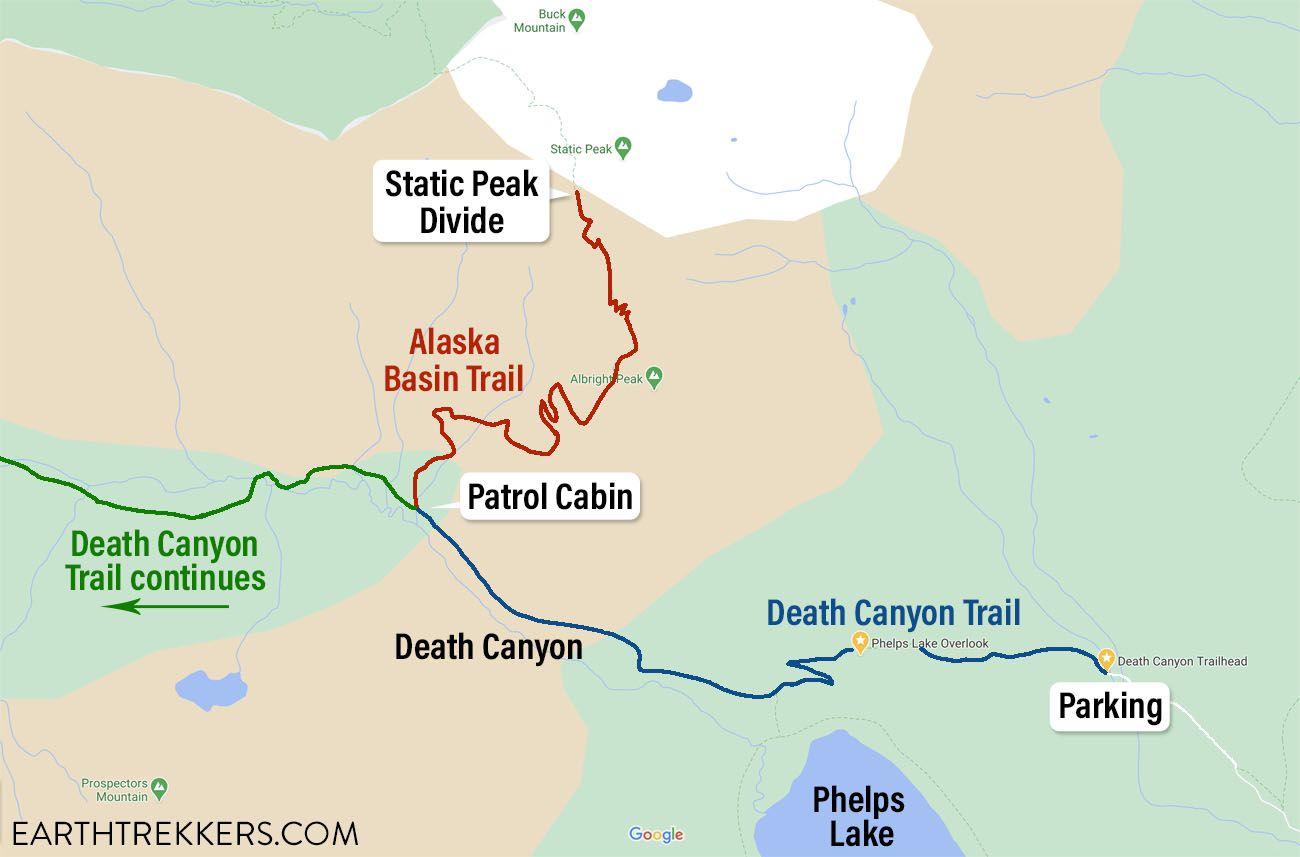 Static Peak Divide Map