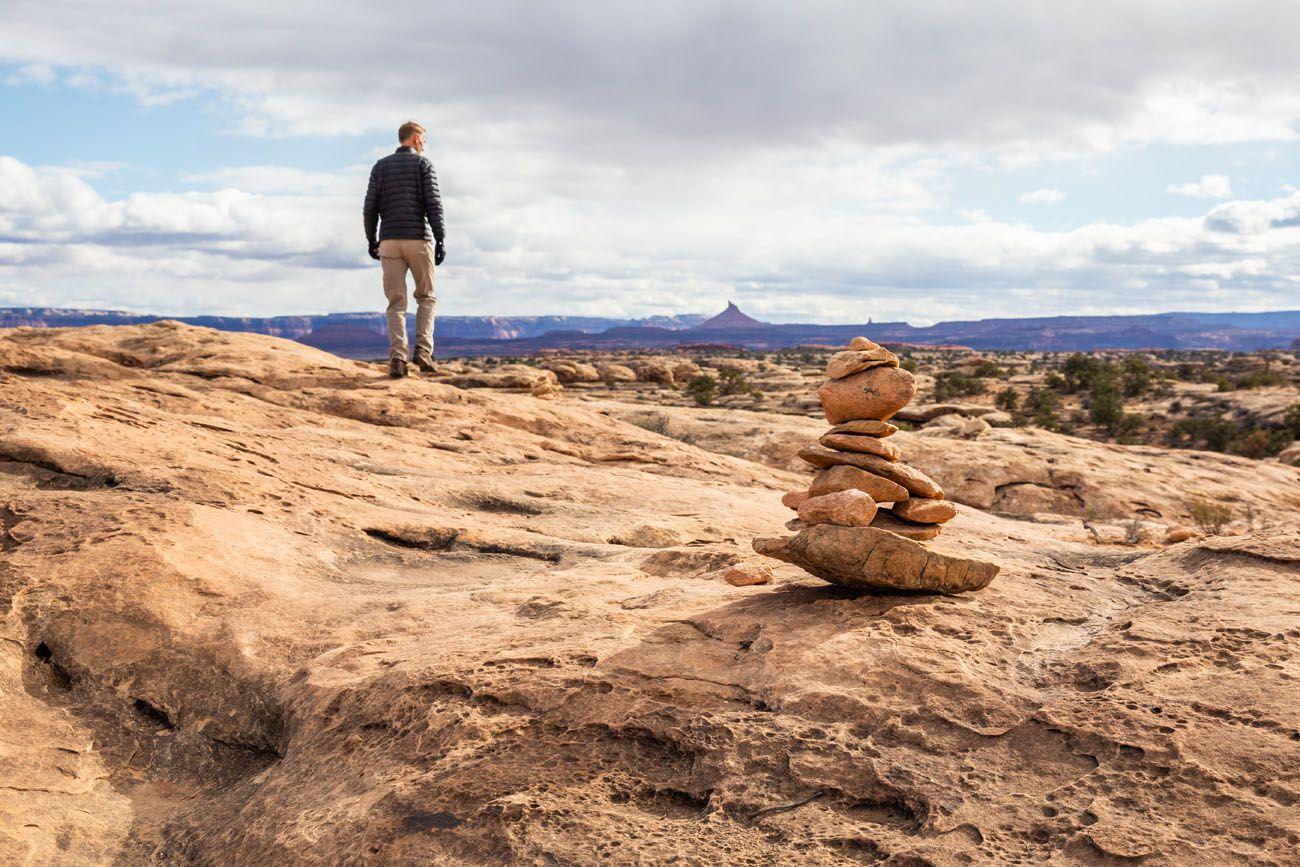 The Needles Rock Cairn