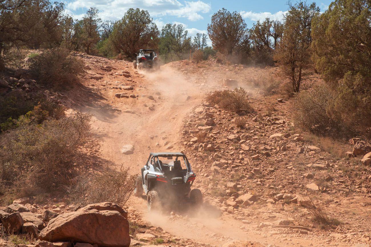 ATVs in Sedona 4WD roads in Sedona