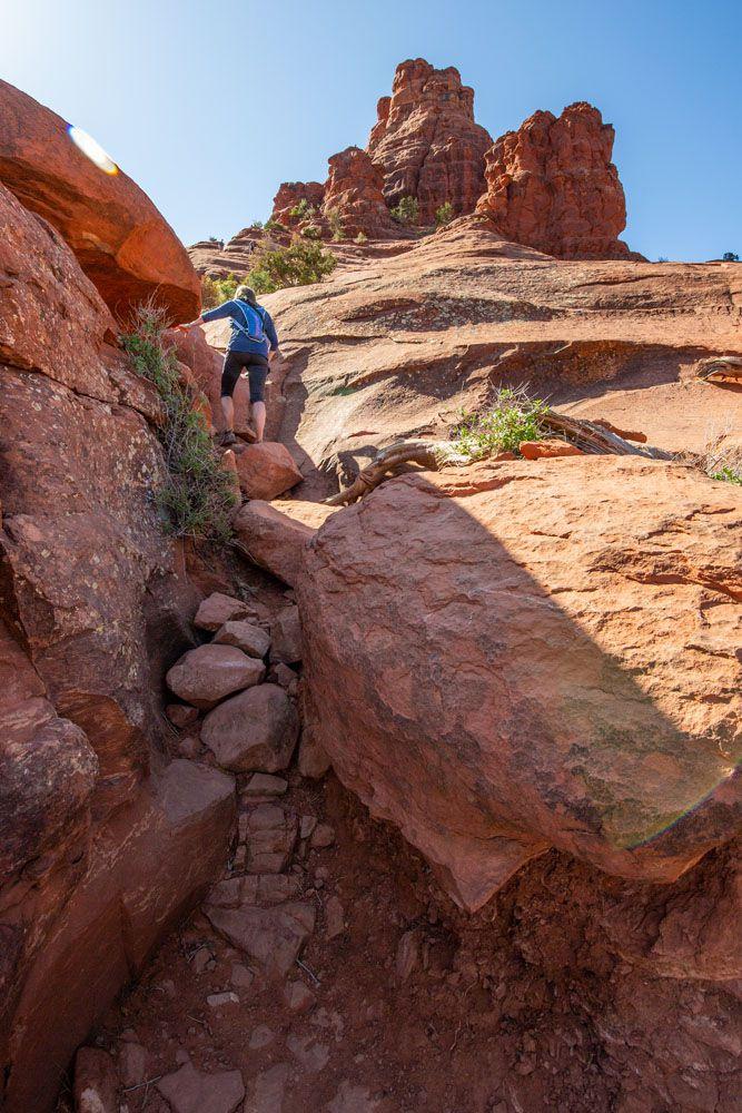 Bell Rock Rock Scramble