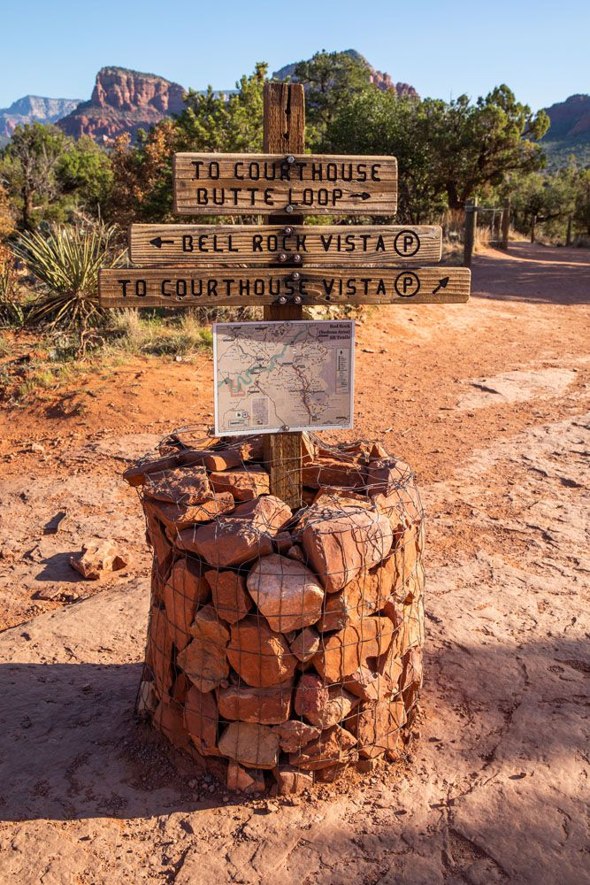 Bell Rock Trail Sign