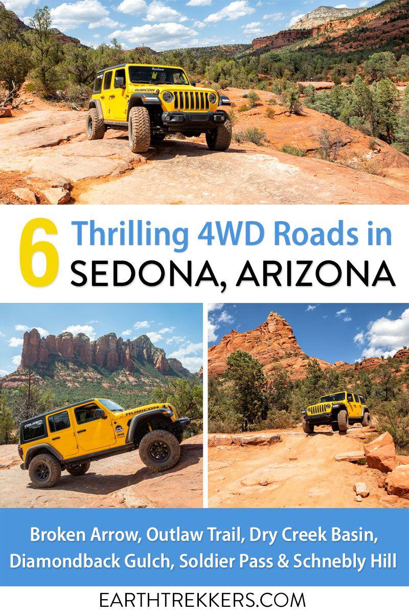 Best 4WD Roads Sedona Arizona