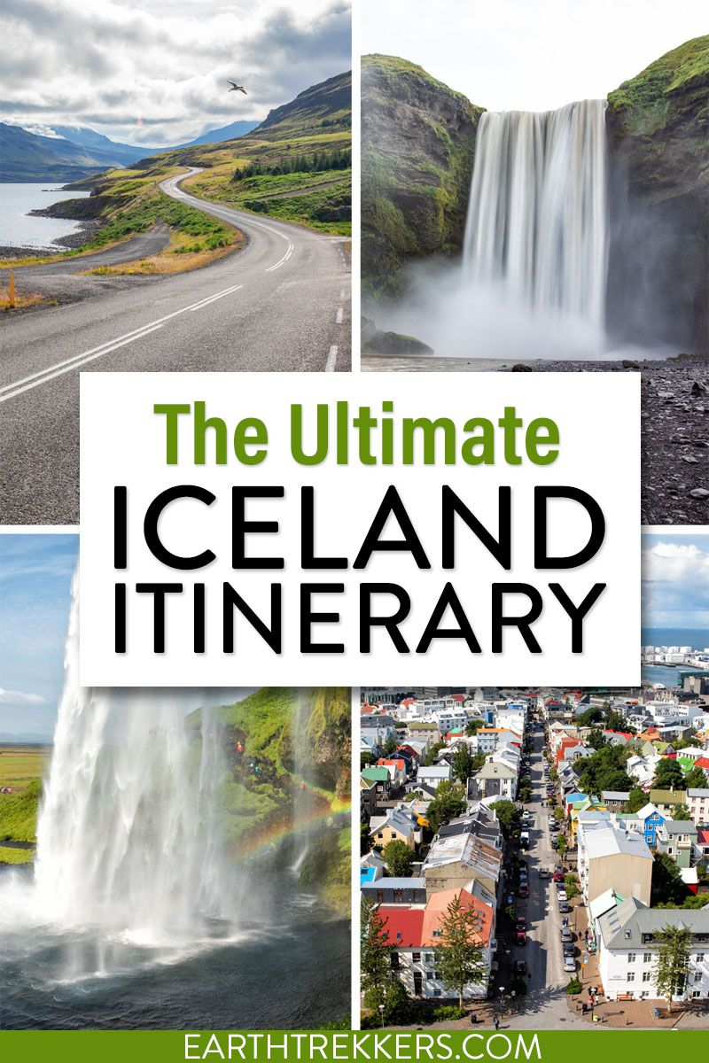 Best Iceland Itinerary Summer
