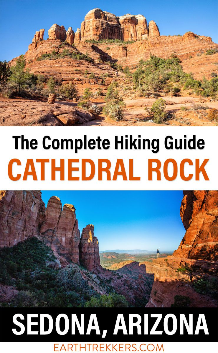 Cathedral Rock Hike Sedona Arizona