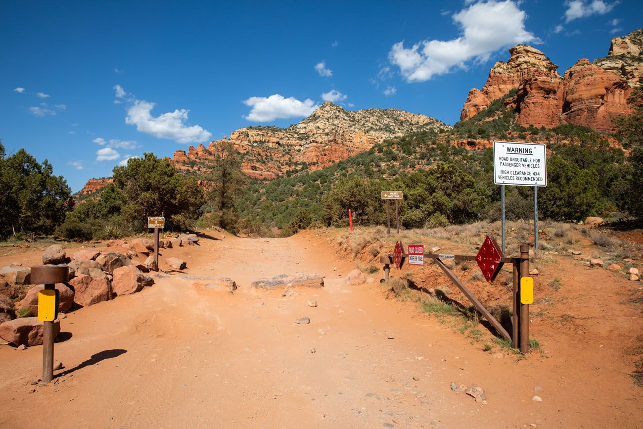 Dry Creek Road Entrance