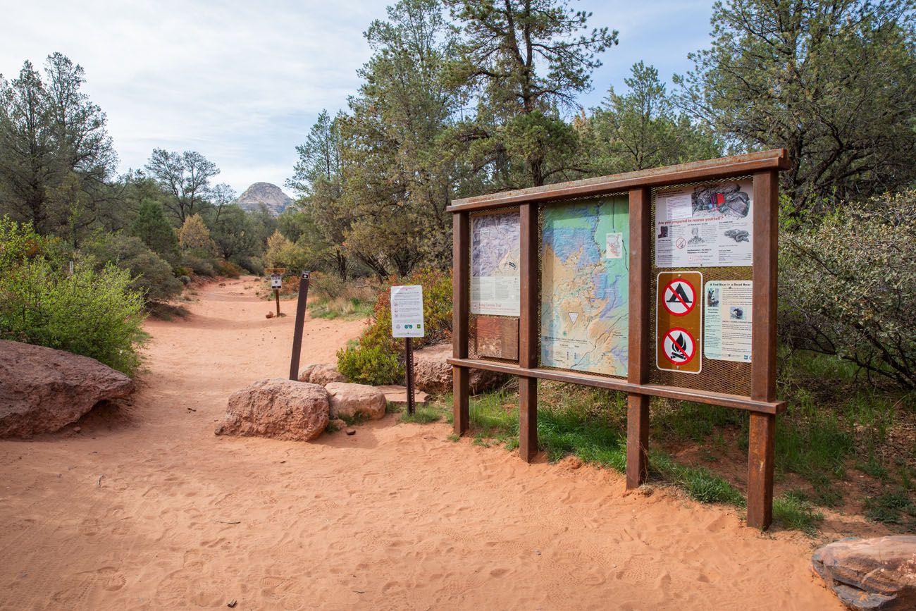 Long Canyon Trailhead