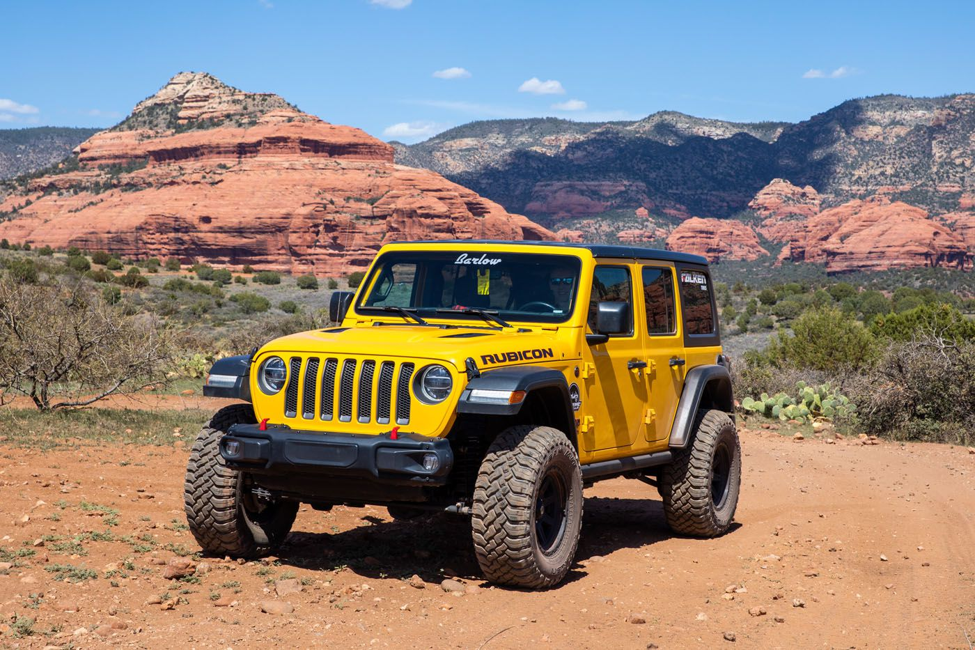 Our Jeep 4WD roads in Sedona