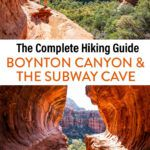 Sedona Hike Boynton Canyon Subway Cave