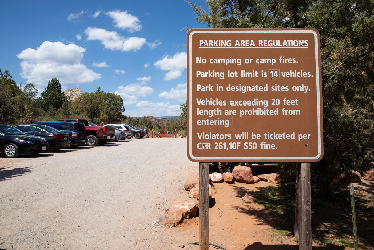 Soldier Pass Parking Lot
