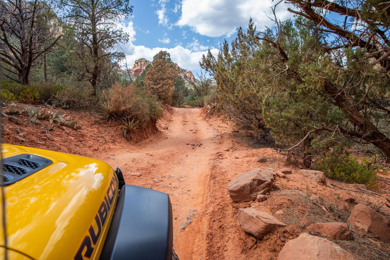 Soldier Pass Road 4WD roads in Sedona