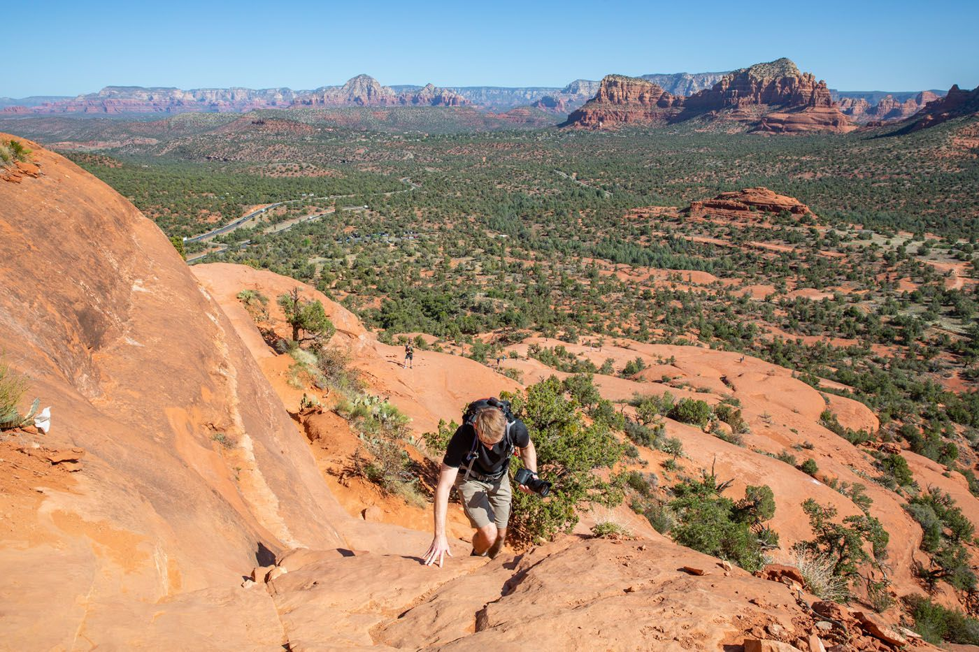 Tim on Bell Rock Courthouse Butte Loop Trail