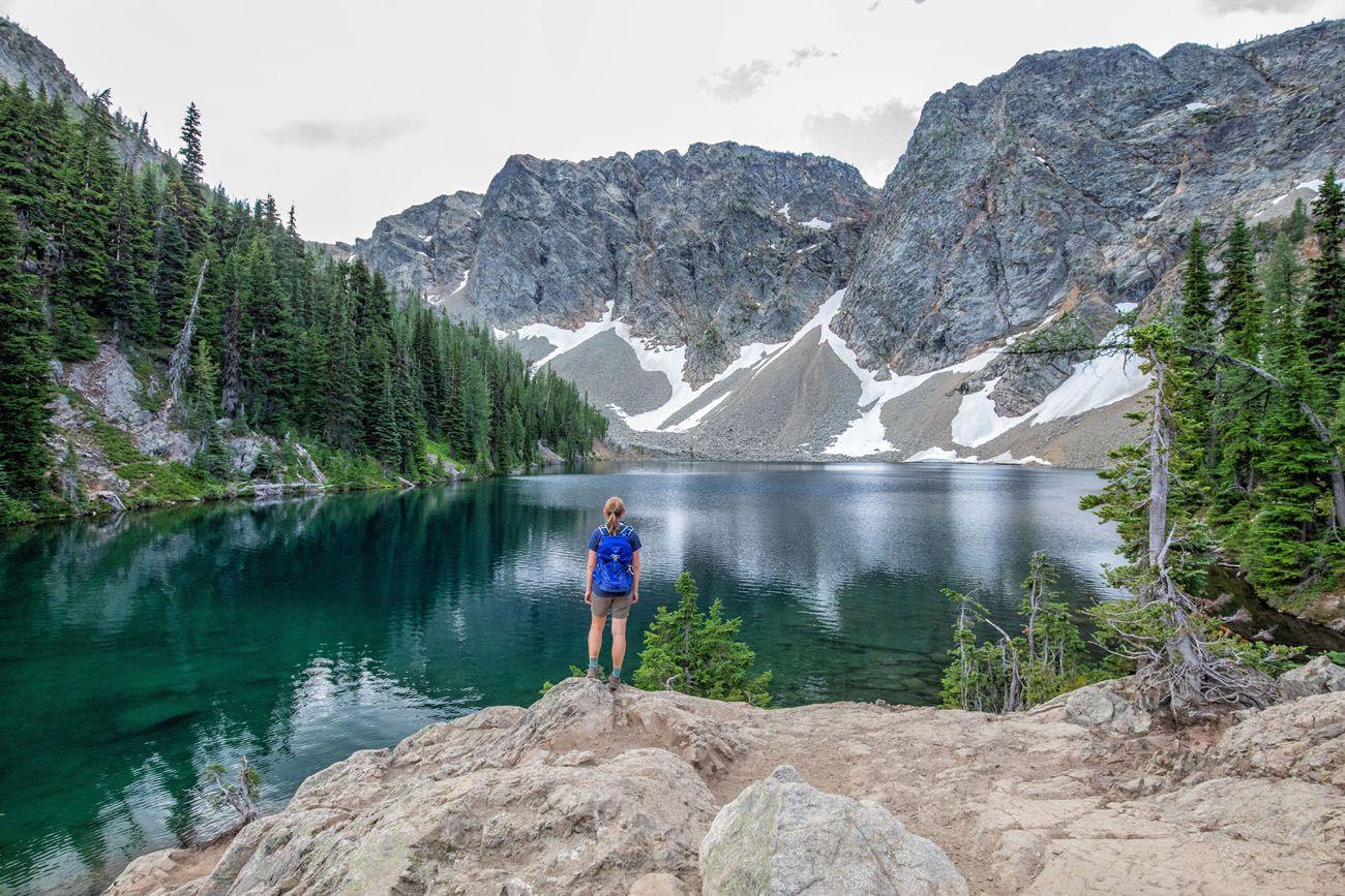 Blue Lake Washington itinerary