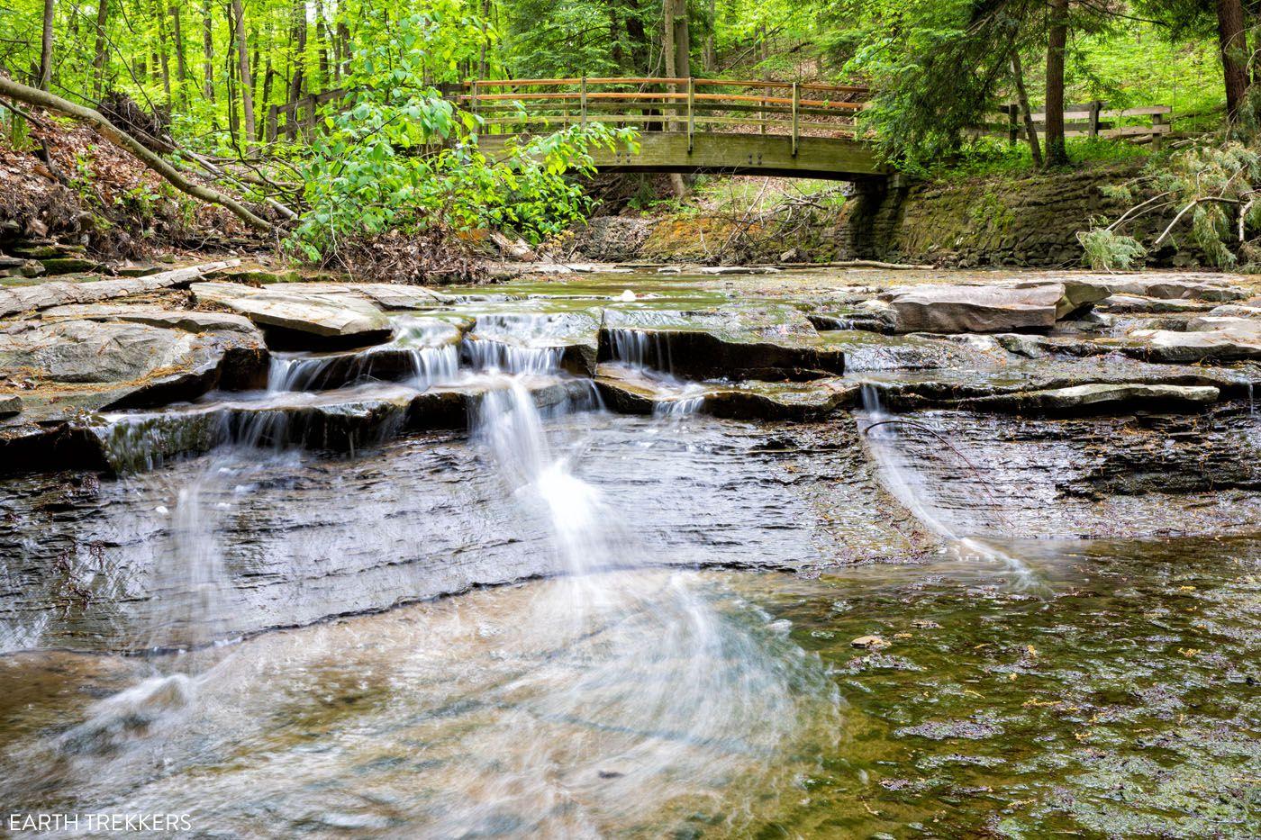 Bridal Veil Falls Cuyahoga