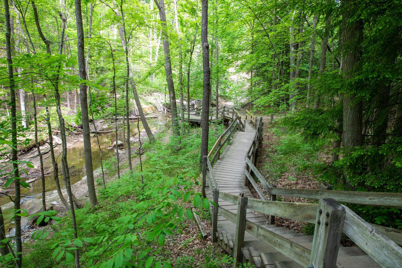 Bridal Veil Falls Trail