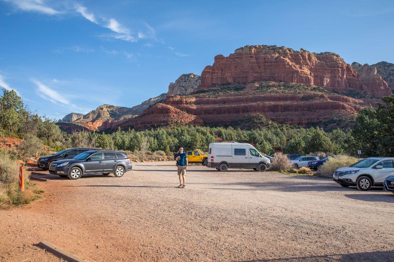 Brins Mesa Parking Lot