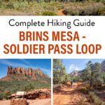 Brins Mesa Soldier Pass Sedona Arizona Hike