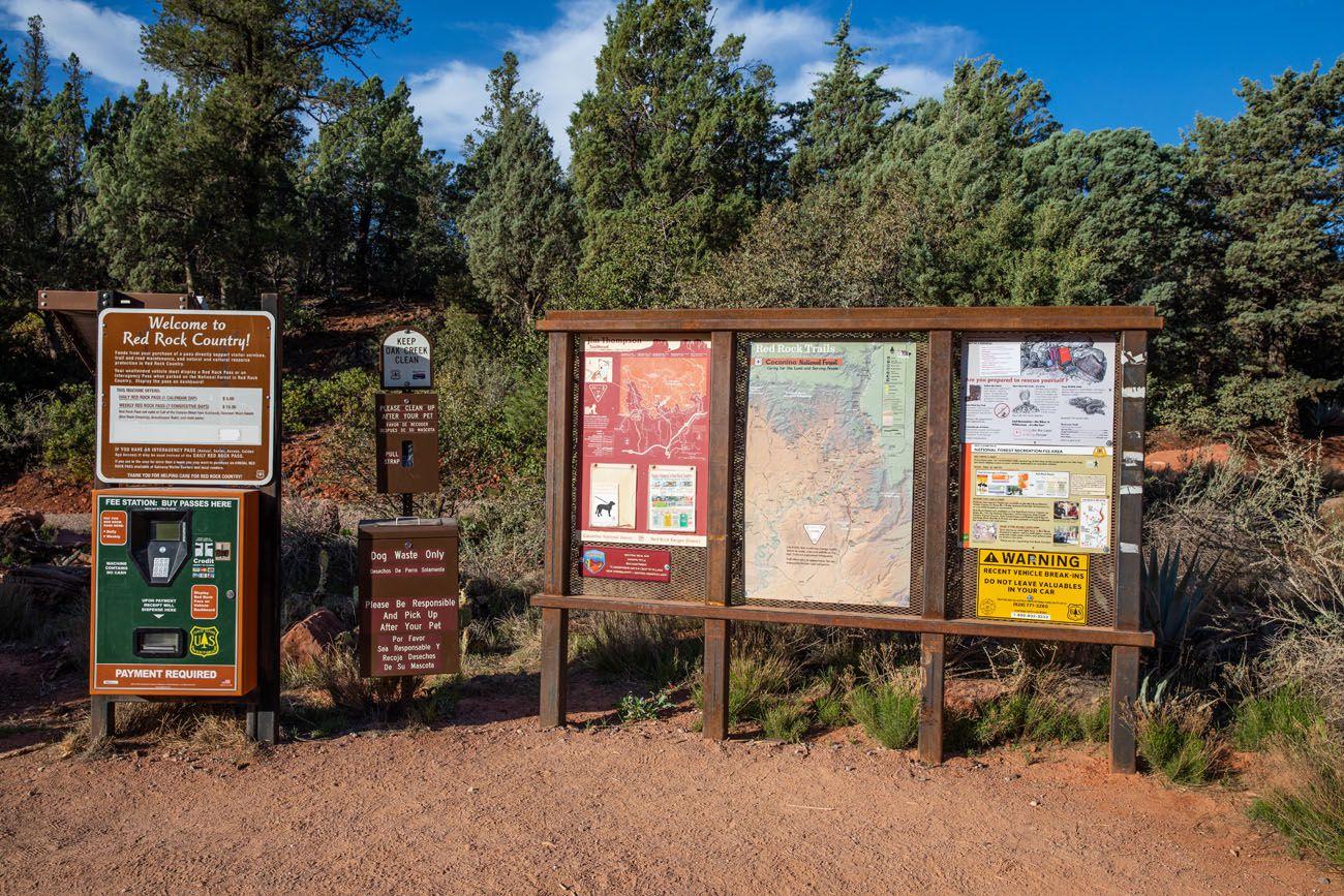 Brins Mesa Trailhead