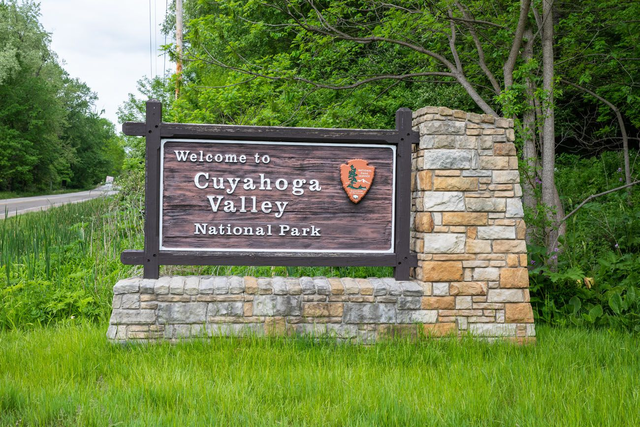 Cuyahoga Valley Sign
