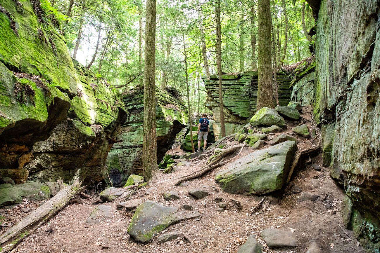 Hikes in Ohio