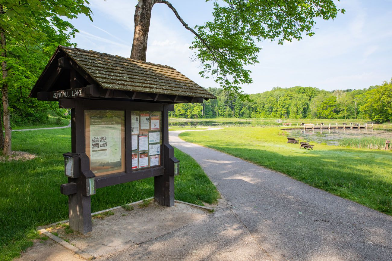 Kendall Lake things to do in Cuyahoga Valley