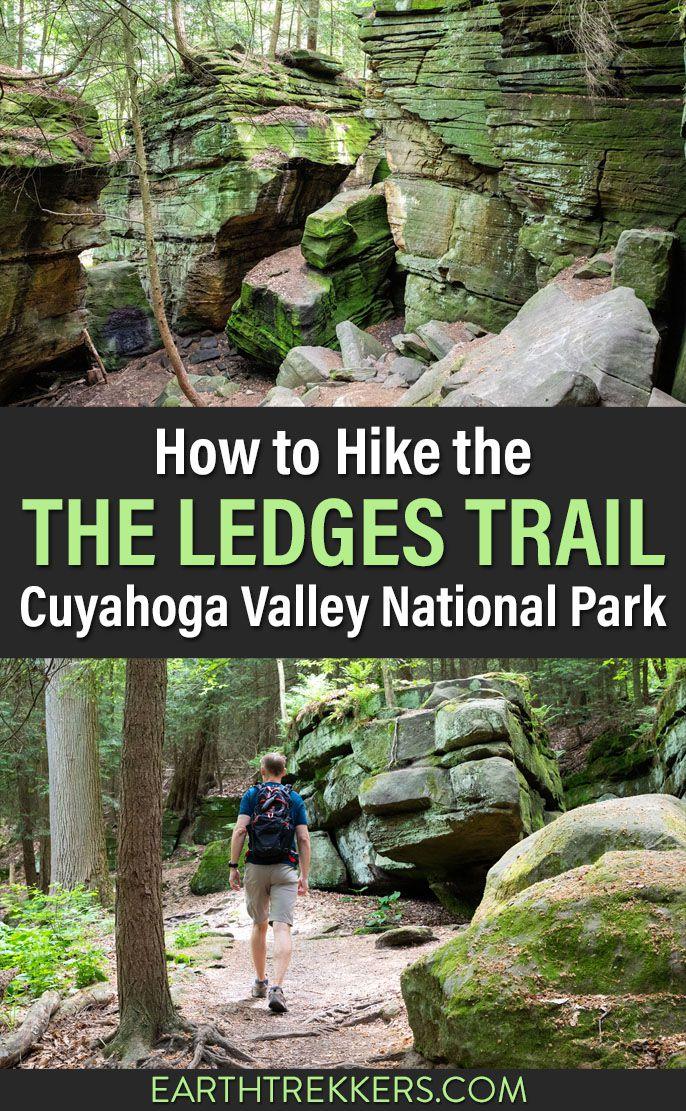 Ledges Trail Cuyahoga Valley Hike