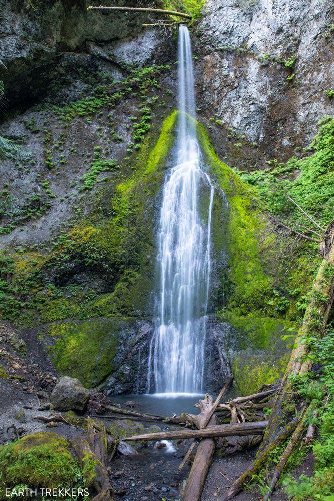 Marymere Falls Washington national parks