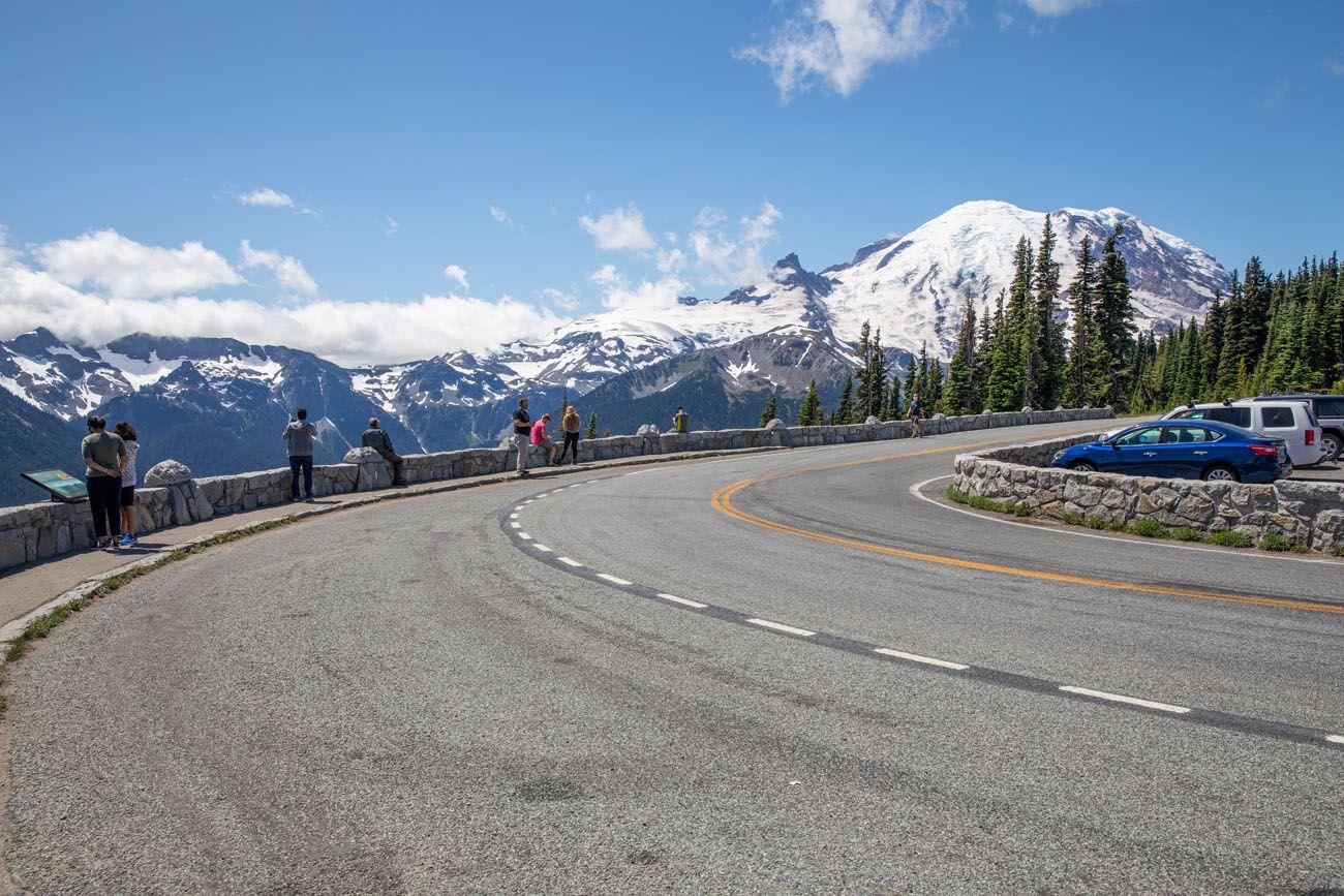 Mount Rainier View Washington itinerary