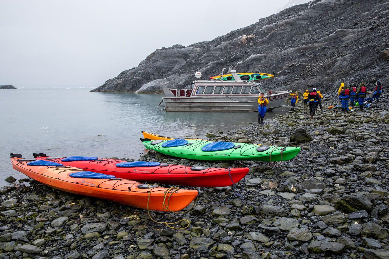 Columbia Glacier Kayaking Tour