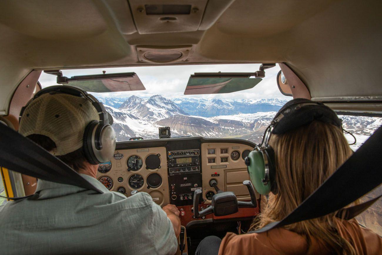 Kara in the Cockpit