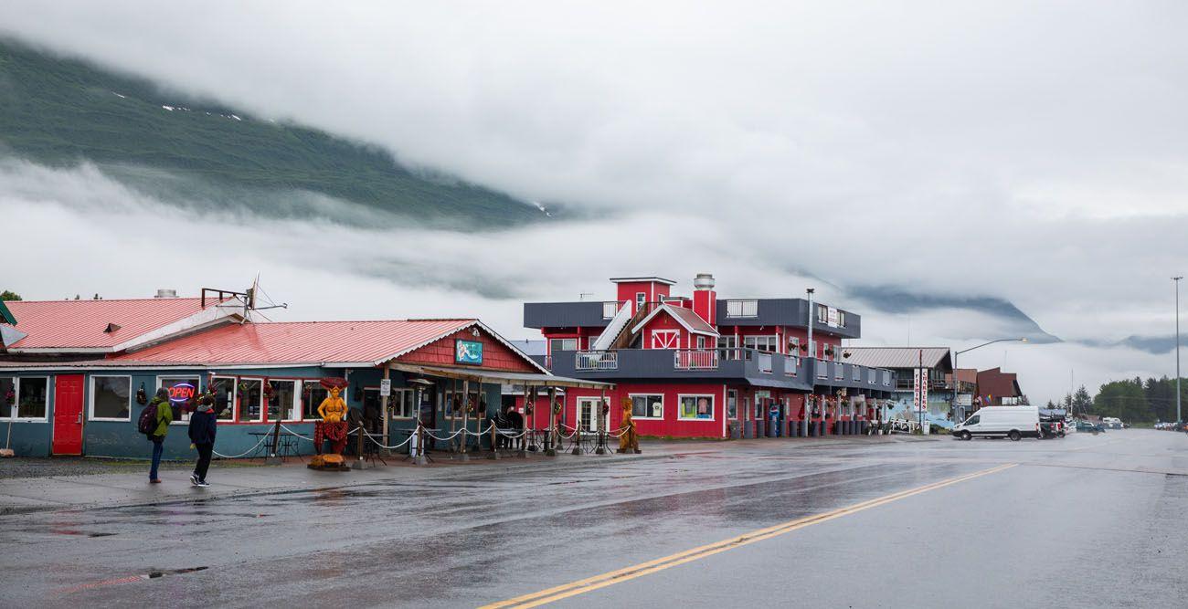 Valdez in the Rain