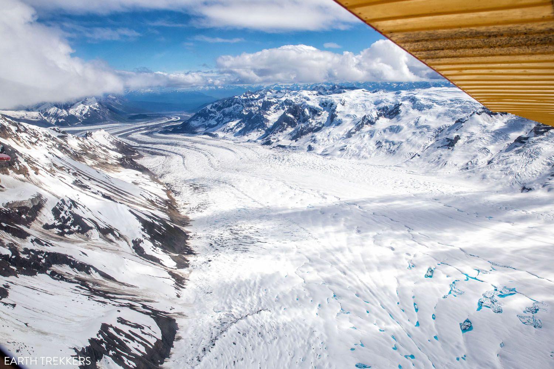 Wrangell St Elias Glacier