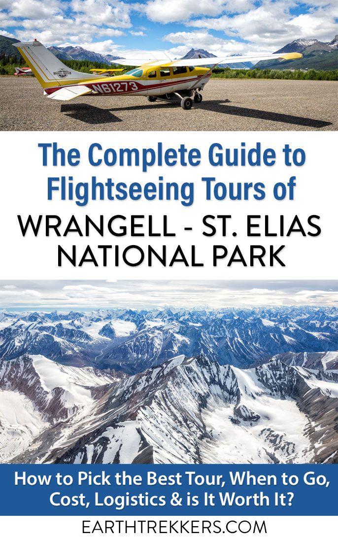 Wrangell St Elias National Park Flightseeing