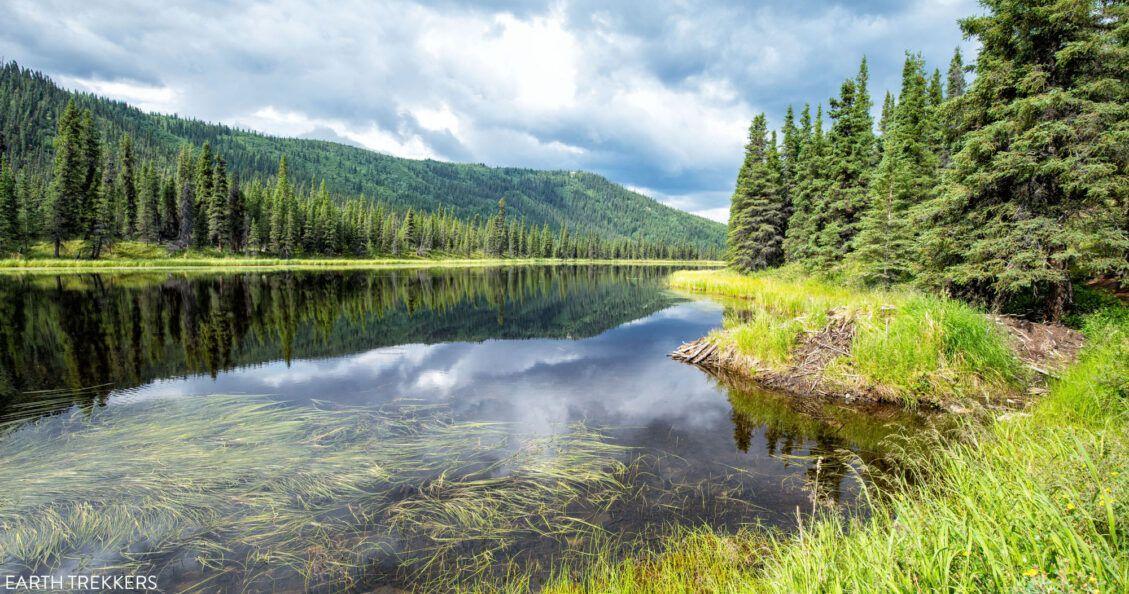 Triple Lakes Hike Denali