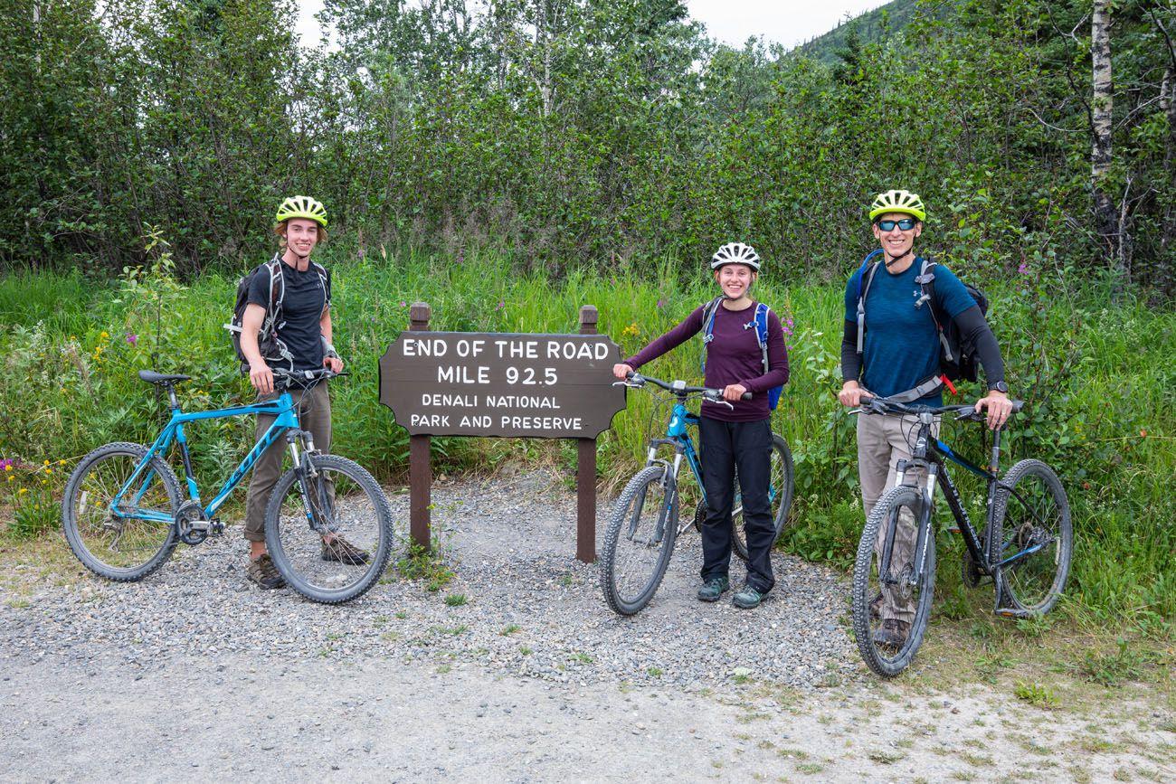 End of Denali Park Road