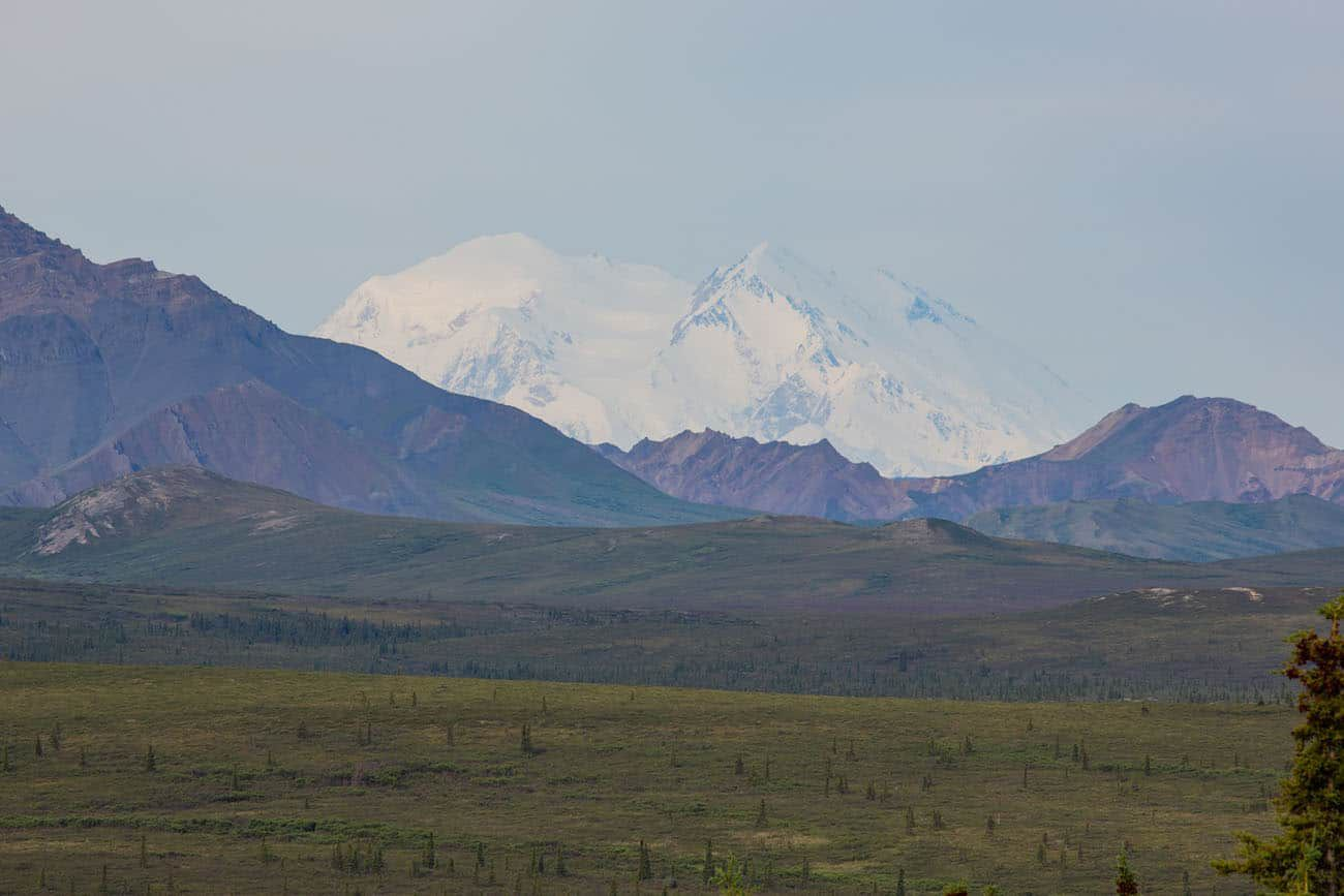 First View of Denali