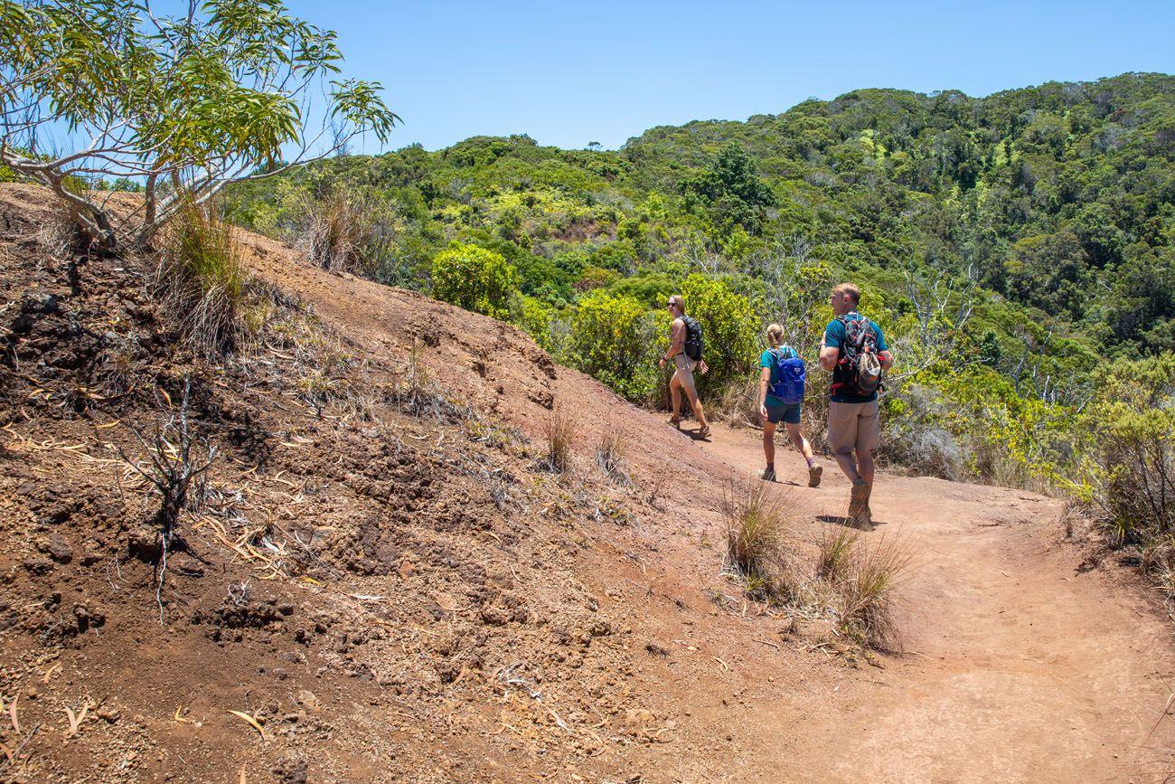Hot Hiking Trail