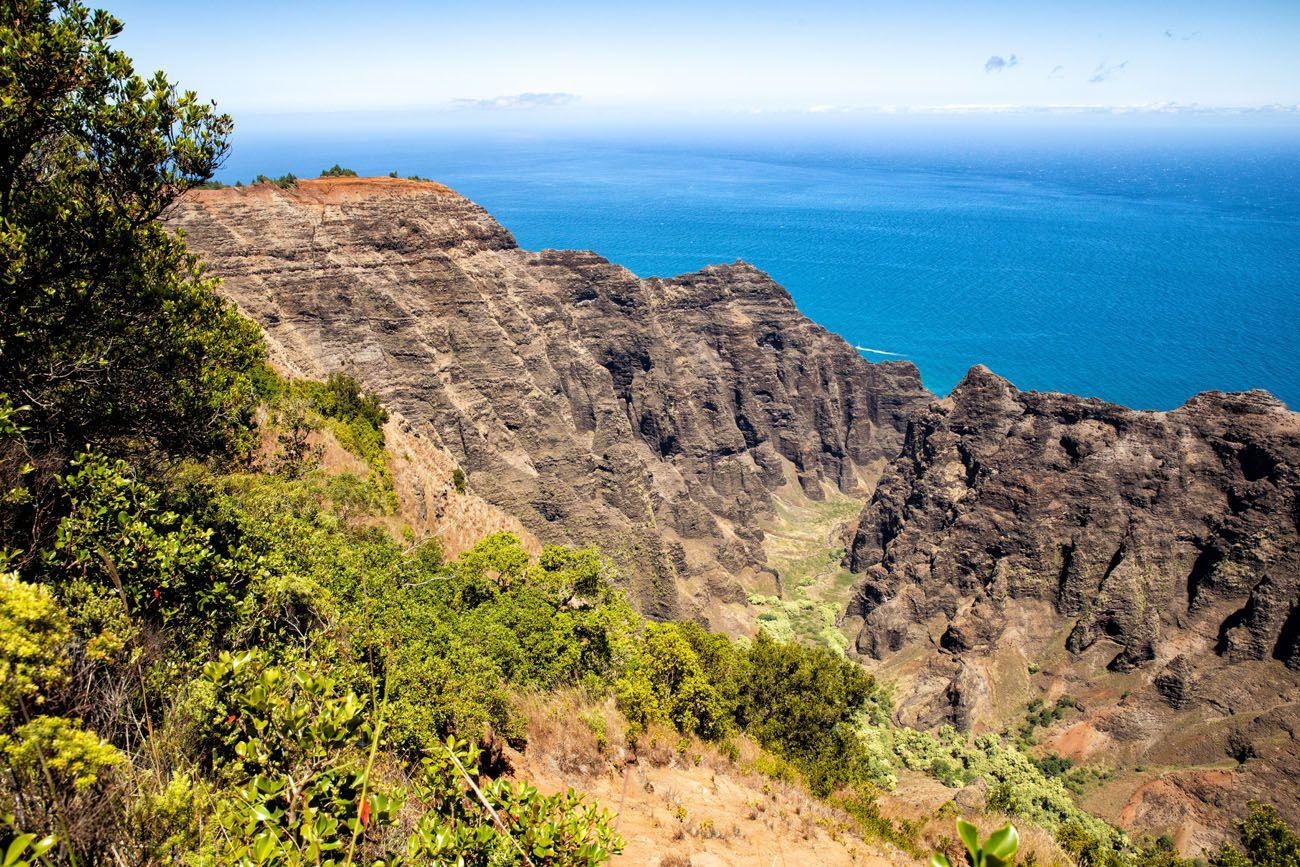 Nualolo Cliff Trail View